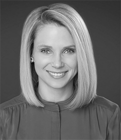 Marissa Mayer : Former President & CEO of Yahoo